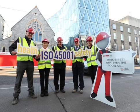 Irish Companies Among First in the World to Adopt Major Workplace Health & Safety Standard