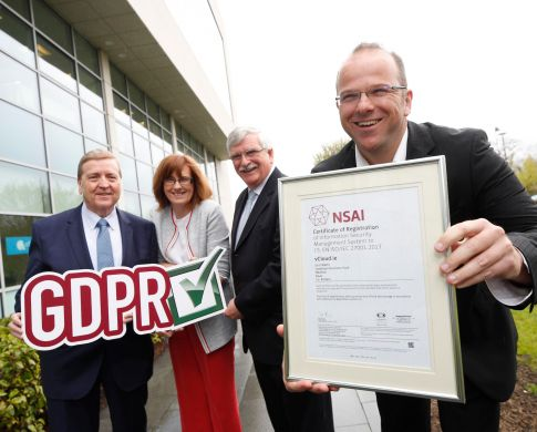 Irish Firms get GDPR-ready with Information Security Standard