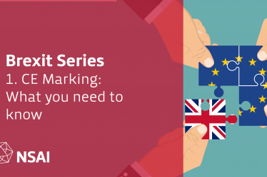 Brexit Series, Part 1 - CE Marking: What you need to know