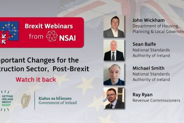 Important Changes for the Construction Sector, Post Brexit